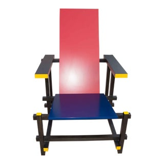 Gerrit Reitveid Red & Blue Chair