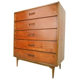 Lane Furniture Mid-Century Modern Acclaim Highboy Dresser
