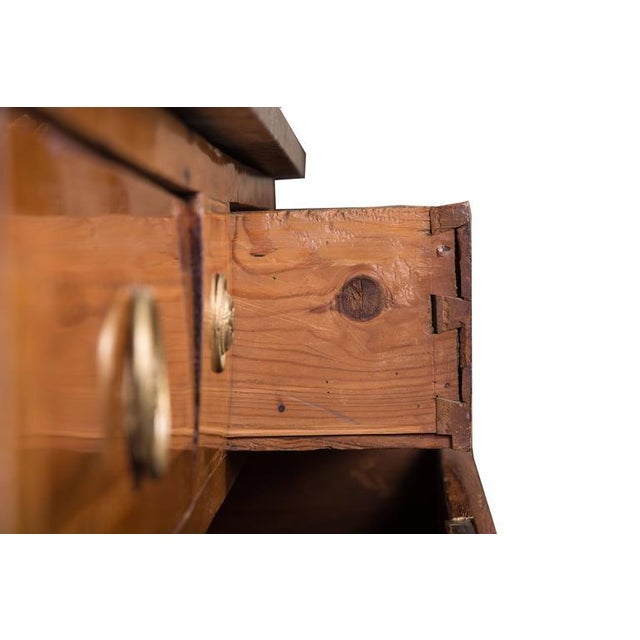18th Century Italian Neoclassic Walnut and Fruitwood Commode - Image 5 of 6
