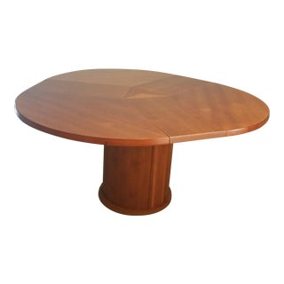Danish Modern Expanding Dining Table - Seats 5 to 8