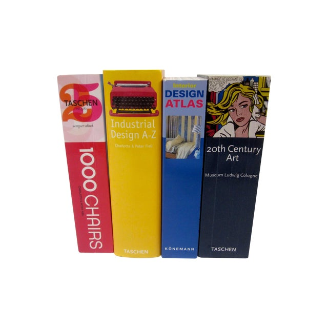 Taschen Design Art Books - Set of 4 - Image 1 of 11