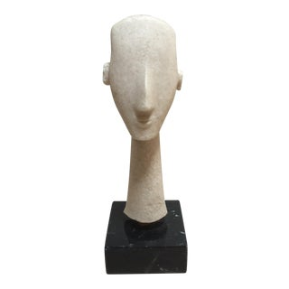 Cycladic Sculpture - Art of the Ancients - Modernistic Bust