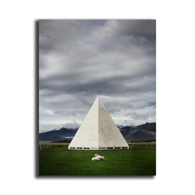 """Image of Mike Kelley """"Bjarnarneskirkja"""" Floating Print"""