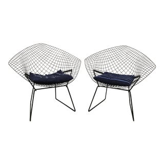 Harry Bertoia for Knoll Diamond Chairs - A Pair