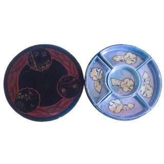 Japanese Nippon Hand-Painted Serving Dish