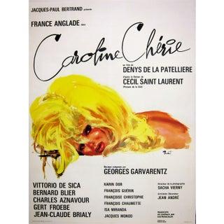 """Caroline Cherie"" 1968 French Film Poster"