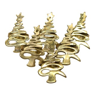 Whimsical Tree Napkin Rings - Set of 6