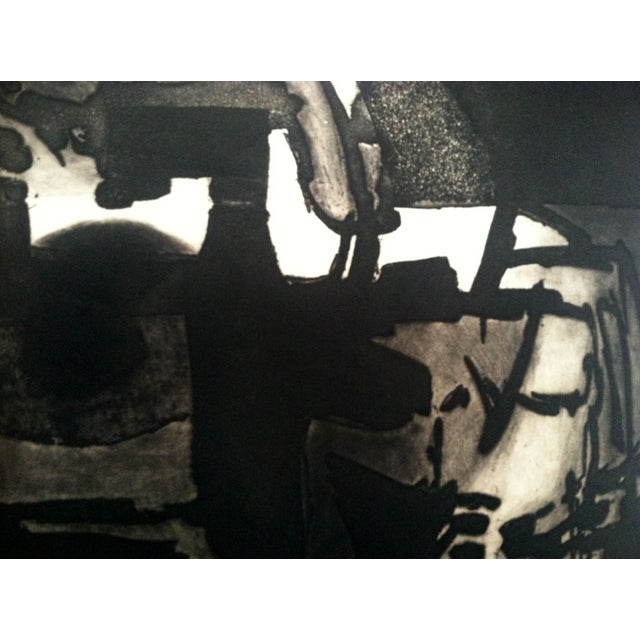 Image of 1960s Modernist Abstract Print