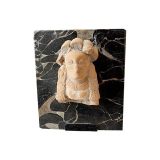 Pre-Columbian Pottery Fragment on Stand