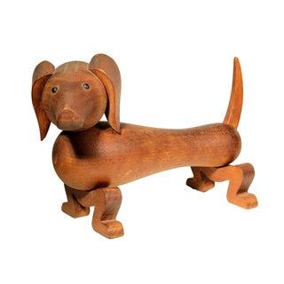 Kay Bojesen Wooden Toy Dachsund
