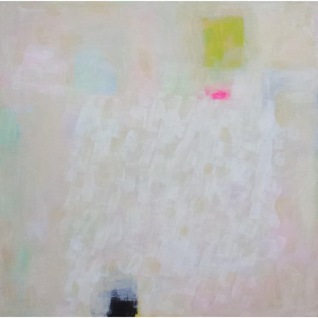 "Image of Susie Kate ""White Lights"" Abstract Painting"