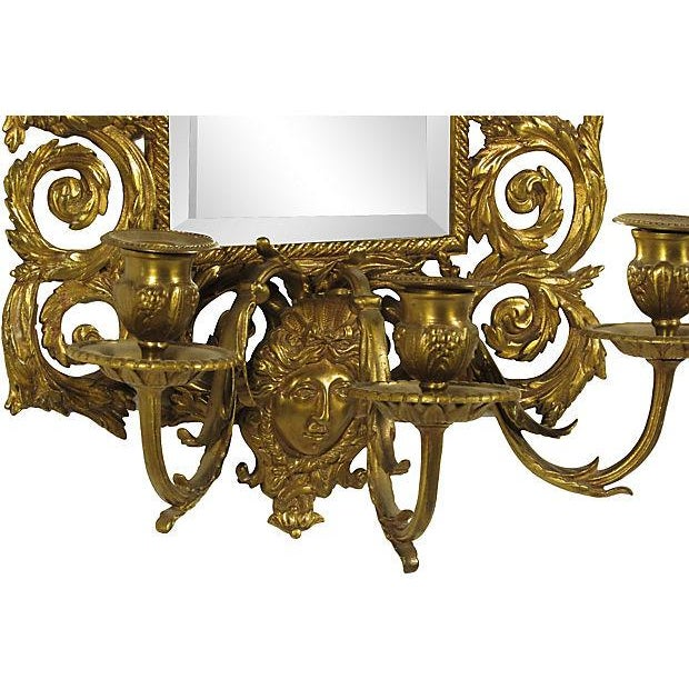 Baroque-Style Girandole Mirrors - A Pair - Image 4 of 4
