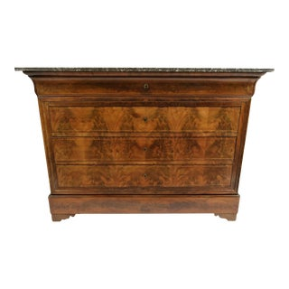 French Louis Philippe Mahogany Commode