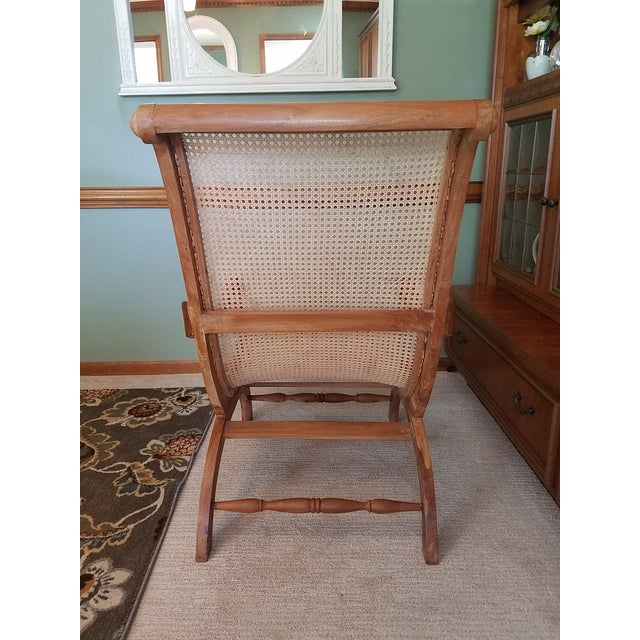 Image of Antique Rattan Plantation Chair - Antique Rattan Plantation Chair Chairish