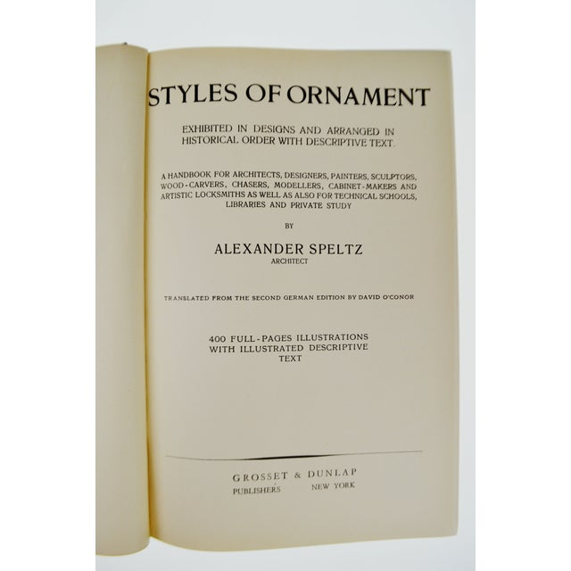 The Styles of Ornament by Alexander Speltz - Image 7 of 11