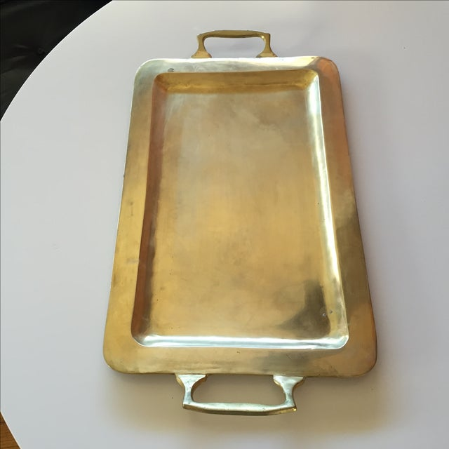 Image of Large Brass Tray