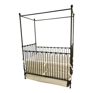Restoration Hardware Baby & Child Canopy Crib