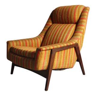 Folke Ohlsson for Dux Mid-Century Lounge Chair