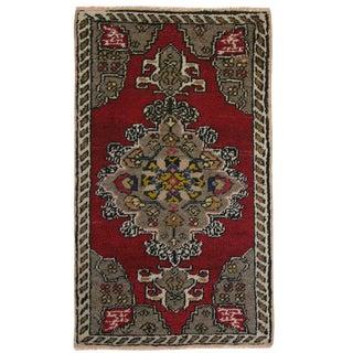 Classic Medallion Yastik | 1'7 x 2'10 Carpet