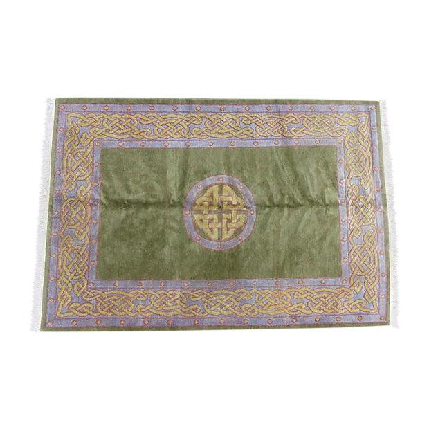 Nepalese Wool Rug- 6' x 9' - Image 1 of 11