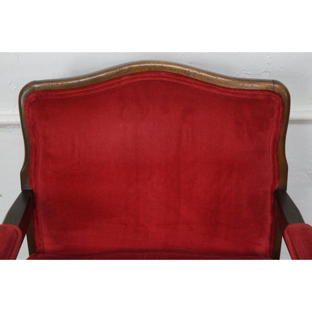 French Country Fauteuils Arm Chairs - A Pair - Image 10 of 11