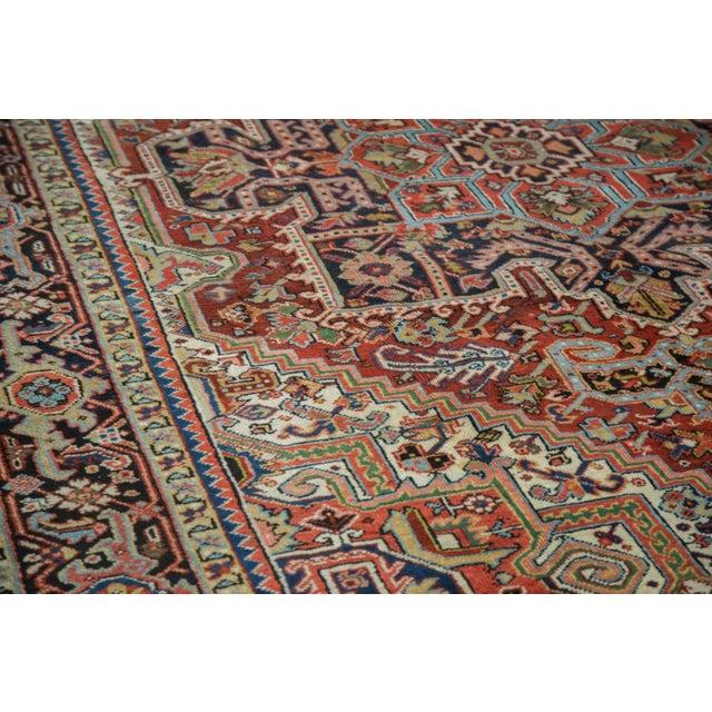 "Traditional Vintage Heriz Carpet - 8'2"" X 10'4"" - Image 3 of 10"
