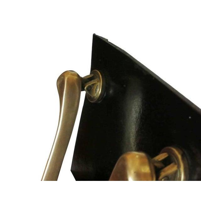 Mid Century Solid Brass Boomerang Door Knocker Chairish