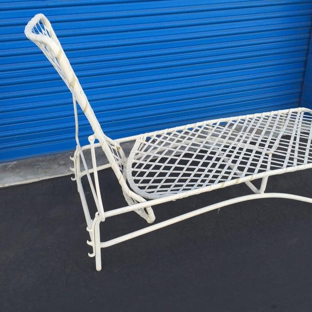 Mid century brown jordan outdoor lounge chaise chairish for Brown jordan chaise lounge