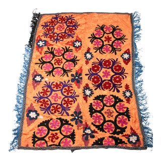 Vintage Uzbekistan Embroidered Suzani