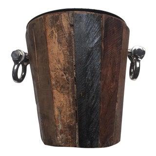 Rustic Ice Bucket
