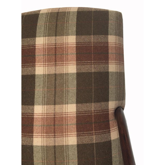 New Pair Country Arm Chairs Ralph Lauren Plaid - Image 6 of 9