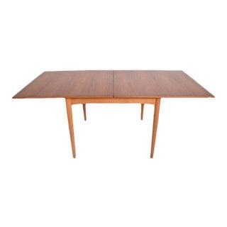 Danish Modern Teak Folding Dining Table