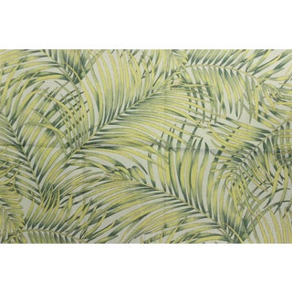 Vintage Portfolio Textiles With Palm Leaf Pattern