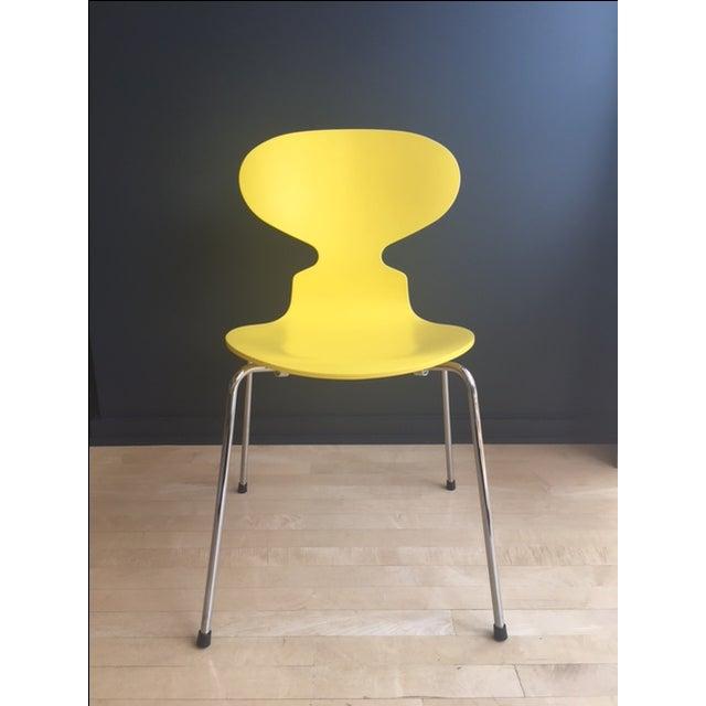 arne jacobsen fritz hansen ant chair chairish. Black Bedroom Furniture Sets. Home Design Ideas