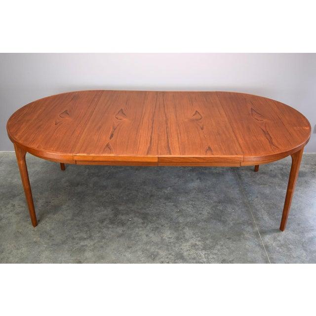 Heltborg Møbler Danish Teak Expandable Dining Table - Image 8 of 11