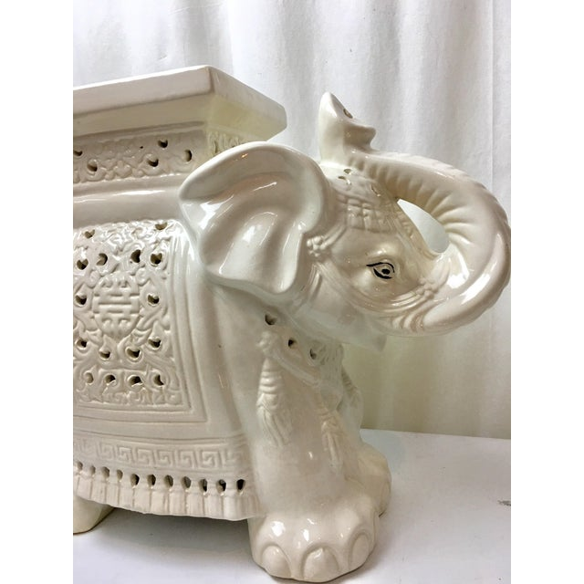 Elephant Garden Stool - Image 3 of 5