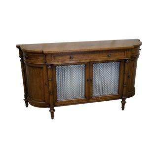 John Stuart Regency Directoire Style Walnut Sideboard Console