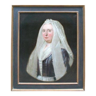 18th Century Dutch Portrait of Mrs. Victoria Walsh