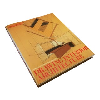 """1983 """"Drawing Interior Architecture"""" Hardcover"""