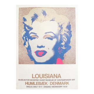 1986 Marilyn Monroe Pop Art Poster by Andy Warhol