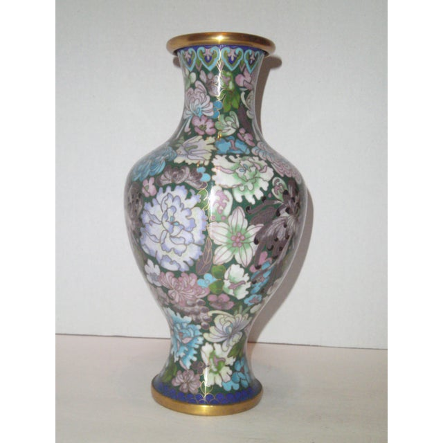 Large Cloisonne Vase - Image 4 of 7