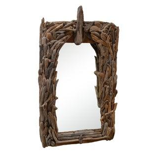 California Modern Driftwood Mirror
