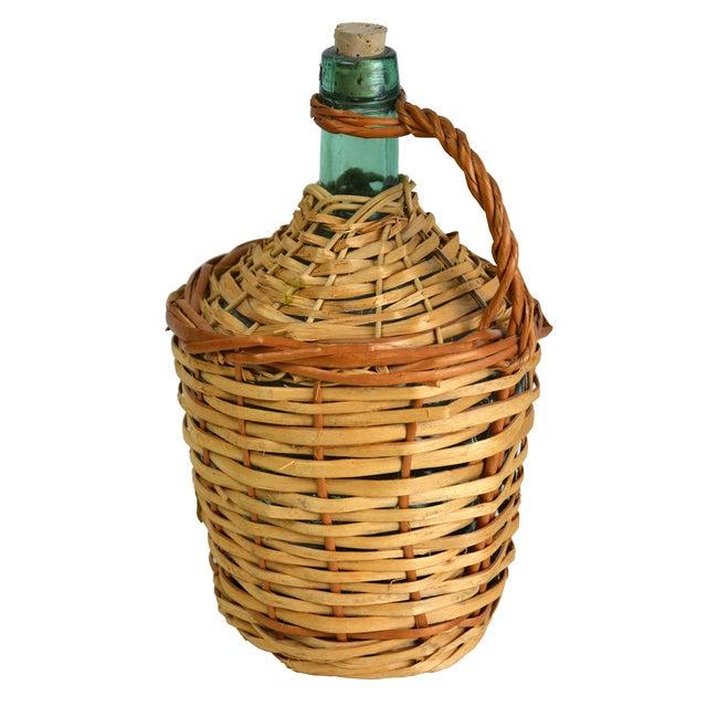 Vintage European Wicker Wine Demijohn - Image 2 of 4