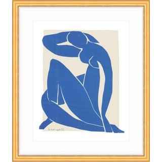 Henri Matisse Blue Nude II Gold Framed Print