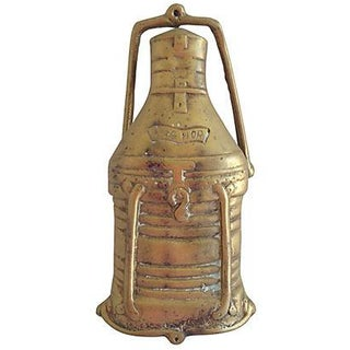 Brass Ship's Lantern Door Knocker