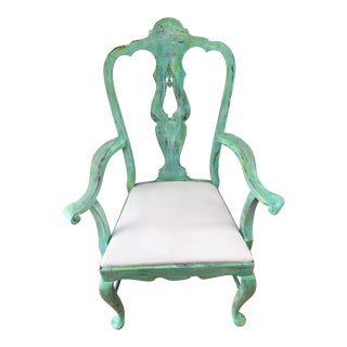 Turquoise Vision Chair