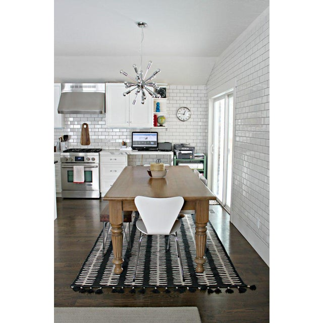 Rustic Farmhouse Dining Table - Image 5 of 9