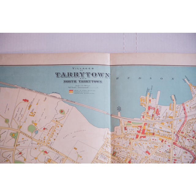Antique Tarrytown New York Map - Image 3 of 5