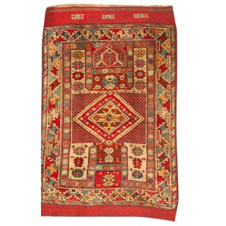 Antique Late 19th Century Turkish Rug