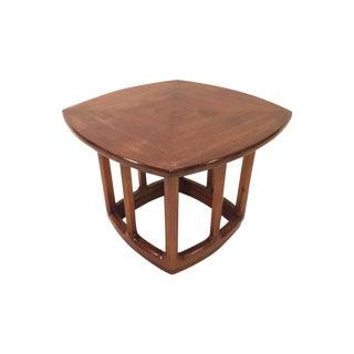 Mid-Century Mahogany Small Side Table